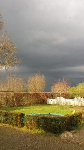 Storms-a-comin!!