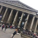 Just arrived at the British Museum for our pamelapstylechallenge photo shoot I love this place especially the main hall as the light is sublime Have a great day xxpamelapbags crafted sculptural understatedluxury bespoke personalized artisanal monobrand niche italian quilting rubber cabretta leather silk satin womeninbusiness womensupportingwomen photoshoot
