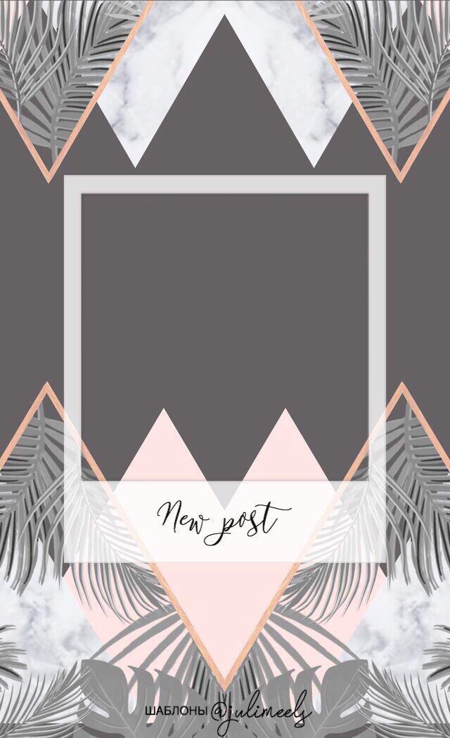 Shablony Dlya Instagram Templates Free Instagram Wallpaper Instagram Photo Frame Wallpaper Phone Girly