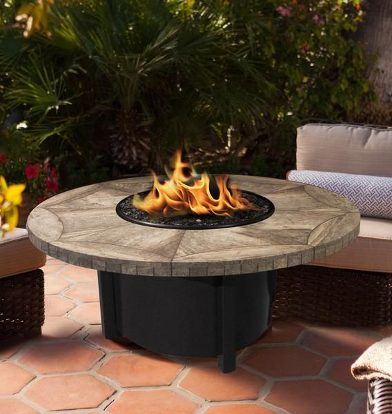 Carmel Round Gas Fire Pit Coffee Table will truly offer that aesthetic look where soft sand meets cypress covered cliffs. The large circular table top surrounding the fire will be the perfect compliment to your backyard drink, bringing friends to enjoy the outdoor space.