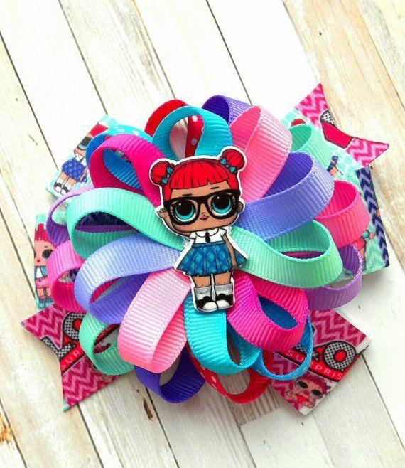 Lol Überraschung Haarschleife lol Überraschung Puppen hairbow lol Geburtstagsparty lol Puppen ha …   – Doll Hair