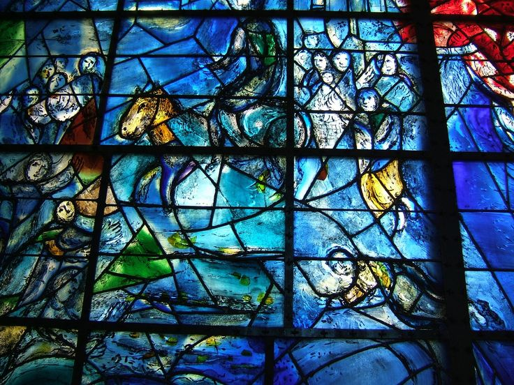 74 best loodglas geestelik images on pinterest for Chagall mural chicago