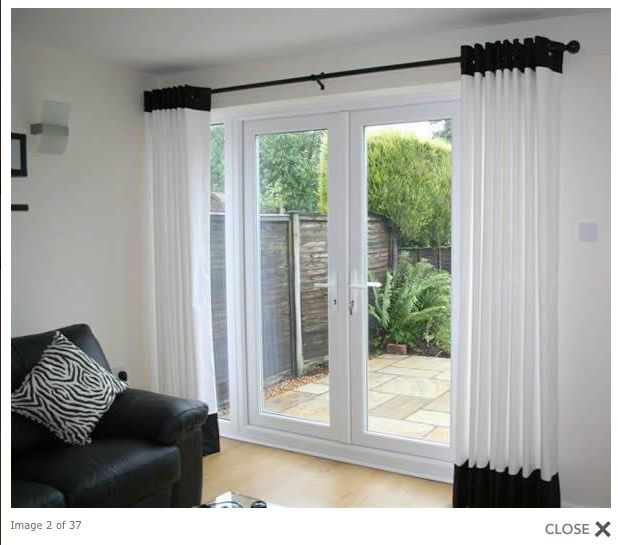 25 best ideas about curtains for sliding doors on for Location of doors and windows