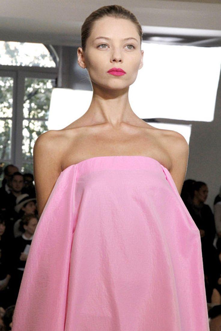 Jil SanderPink Delight, Dresses Details, Pink Dresses, Details Shots, Jil Sander Ss11, Soft Pink, Pink Pink, Fashion Runway, Colours Pink