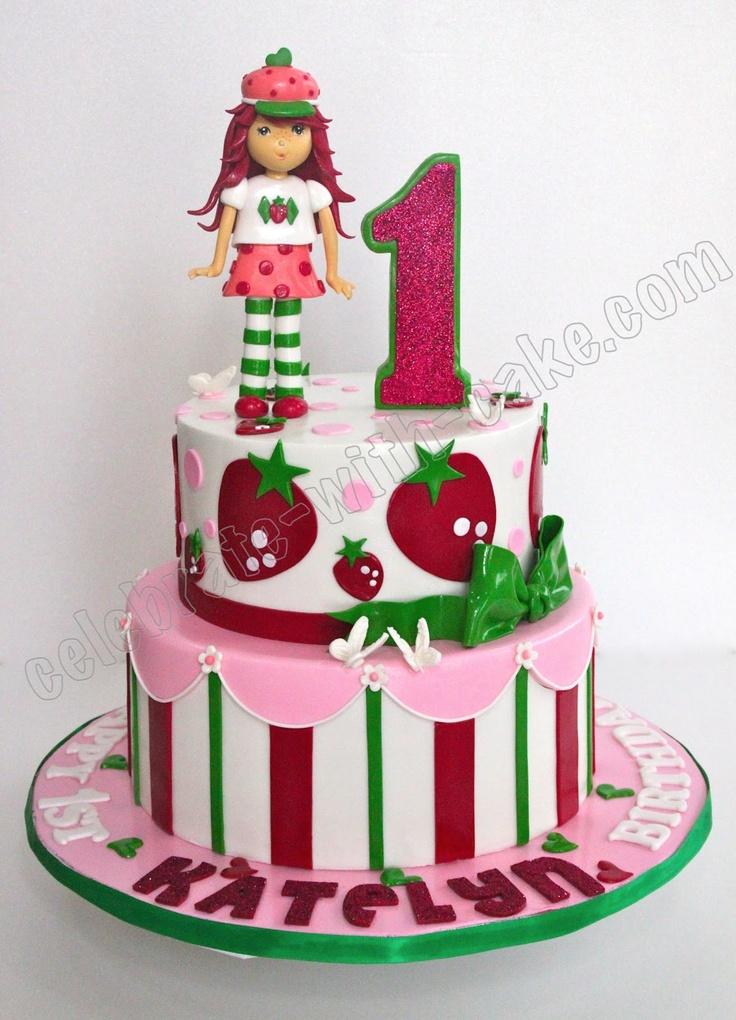 Strawberry Shortcake Cake Topper Singapore