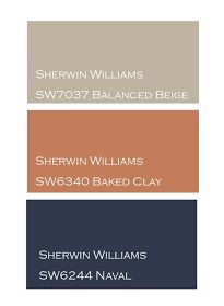 color schemes for office. the yellow cape cod newlywedu0027s navy and terra cotta master retreat office color schemeswall schemes for c