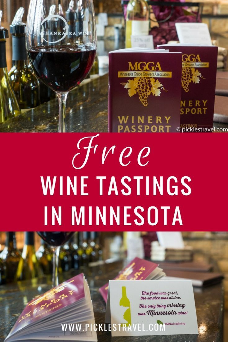 Minnesota Winery Passport And Giveaway Pickles Travel Blog Eco Friendly Living Wine Tasting Near Me Free Wine Wine