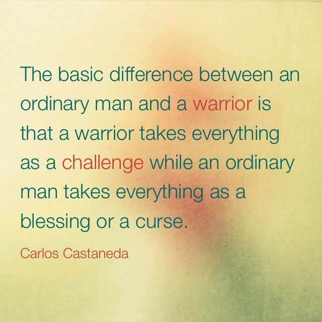 Warrior Carlos Castaneda