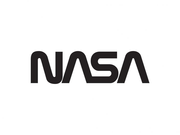 This was briefly a redesign NASA went with, although it didn't last long in favour of the round logo we are familiar with. This design, though plain, is also simple - in an appealing way.