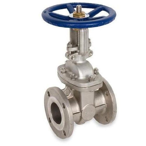 A gate valve, also known as a sluice valve, is a valve which opens by lifting a round or rectangular gate/wedge out of the path of the fluid. Gate Valves are widely used in fluid-handling systems for flow control, typical gate valves are designed to be fully opened or closed. When fully open, the typical gate valve has no obstruction in the flow path, resulting in very low friction loss.