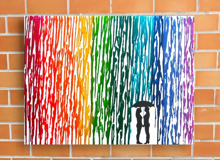 Wedding Gifts For Lesbian Couples: 58 Best Images About Melted Crayon Art On Pinterest