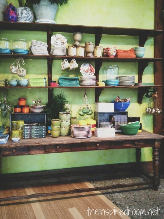 Best 25 dish display ideas on pinterest fiesta ware for Anthropologie store decoration ideas