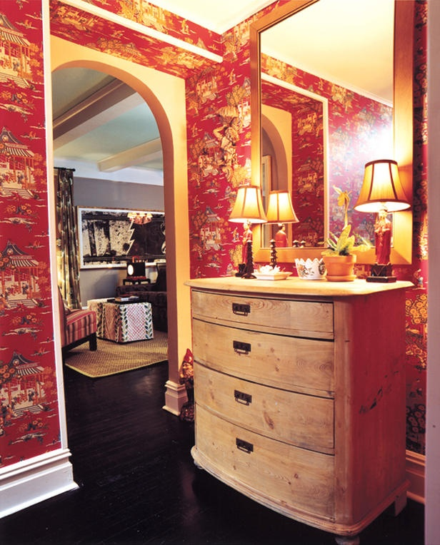 Paint Ideas For Living Room Ireland: 17 Best Ideas About Red Wallpaper On Pinterest