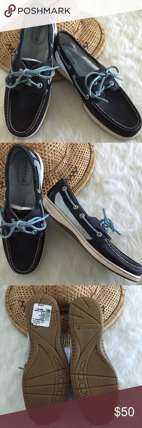 Spotted while shopping on Poshmark: Navy Sperry Top Sider Shoes! #poshmark #fashion #shopping #style #Sperry Top-Sider #Shoes