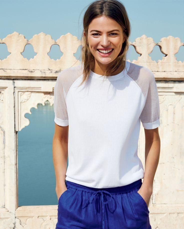 Cameron Russell Stars in J. Crew's Leisure Filled June Style Guide