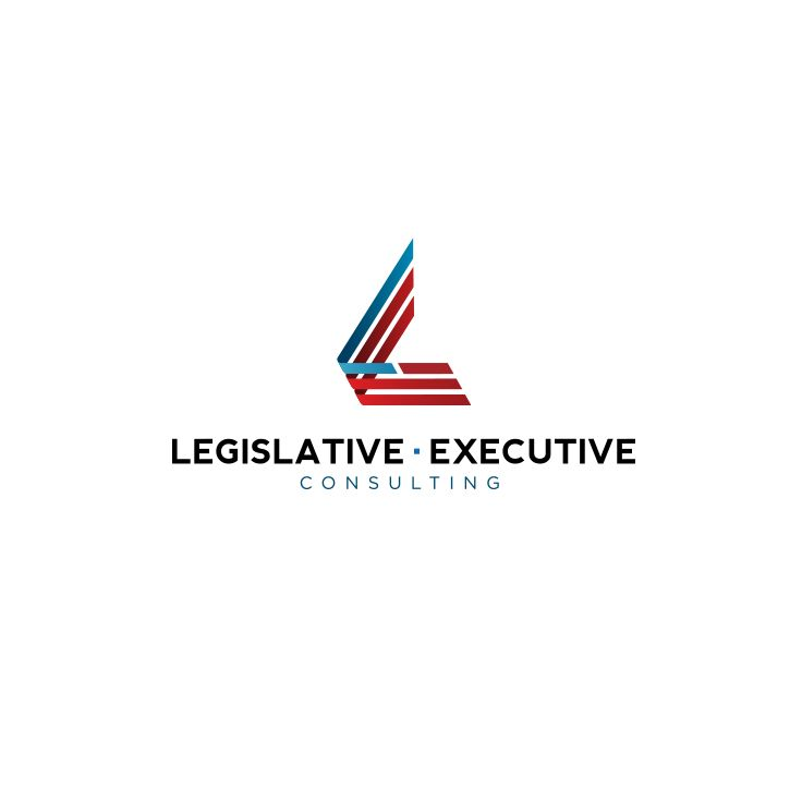 Legislative Executive Consulting Logo Design #epicmarketing #logo #graphicdesign #marketing