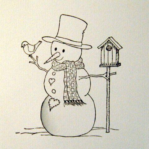 t Fargelegge snømann  t     I dagens luke vil jeg vise dere hvordan jeg fargelegger snø. Jeg bruker Distress Reinkers fra Ranger, Tim Hol...