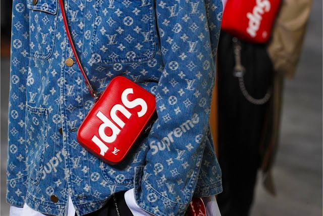 Louis Vuitton x Supreme :: O CLOSE CERTO DO ANO