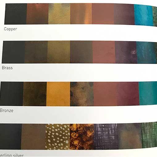 139 best coloring metal: patina, enamel & more images on Pinterest ...