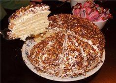 Безумно вкусный сметанный торт