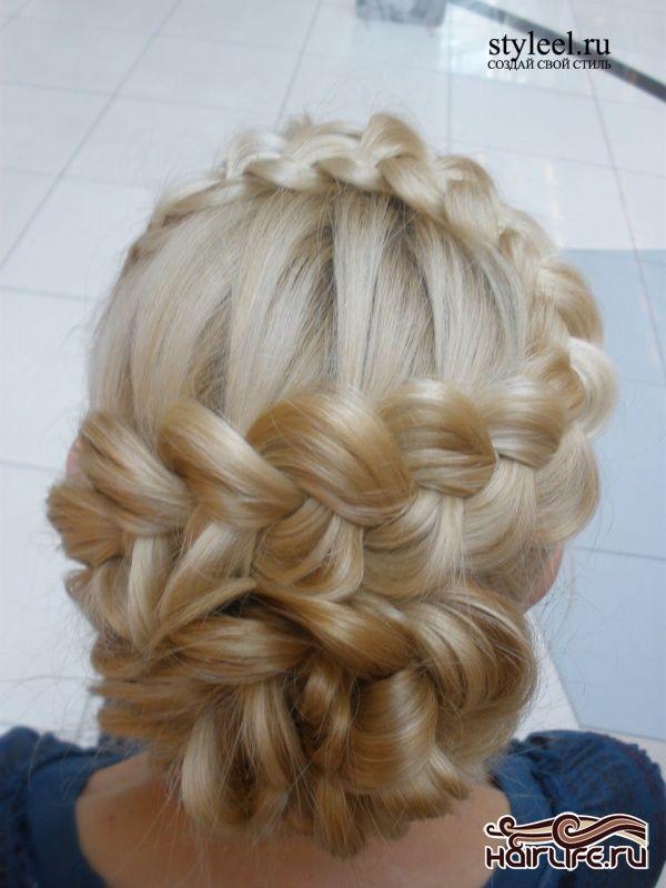 плетение кос фото причесок   Фотоархив