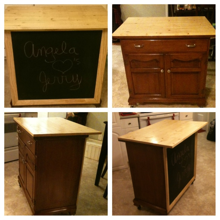 Diy Portable Kitchen Island Plans  WoodWorking Projects amp; Plans