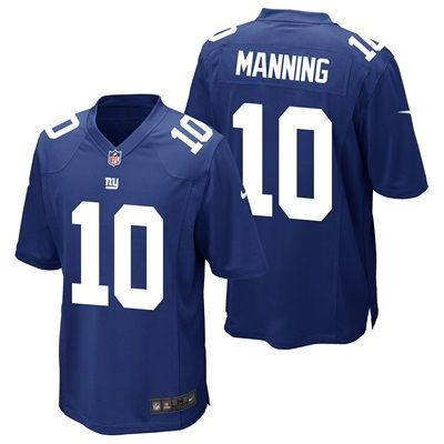 New York Giants Home Game Jersey - Eli Manning - Youth: New York Giants Home Game Jersey - Eli Manning - Junior TEAM LOYALTY, EVERYDAY…