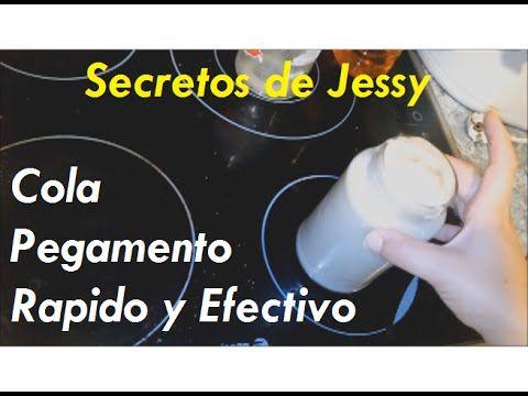 Como hacer Cola Casera efectiva I Pegamento Casero Rápido y Fuerte [FÁCI...