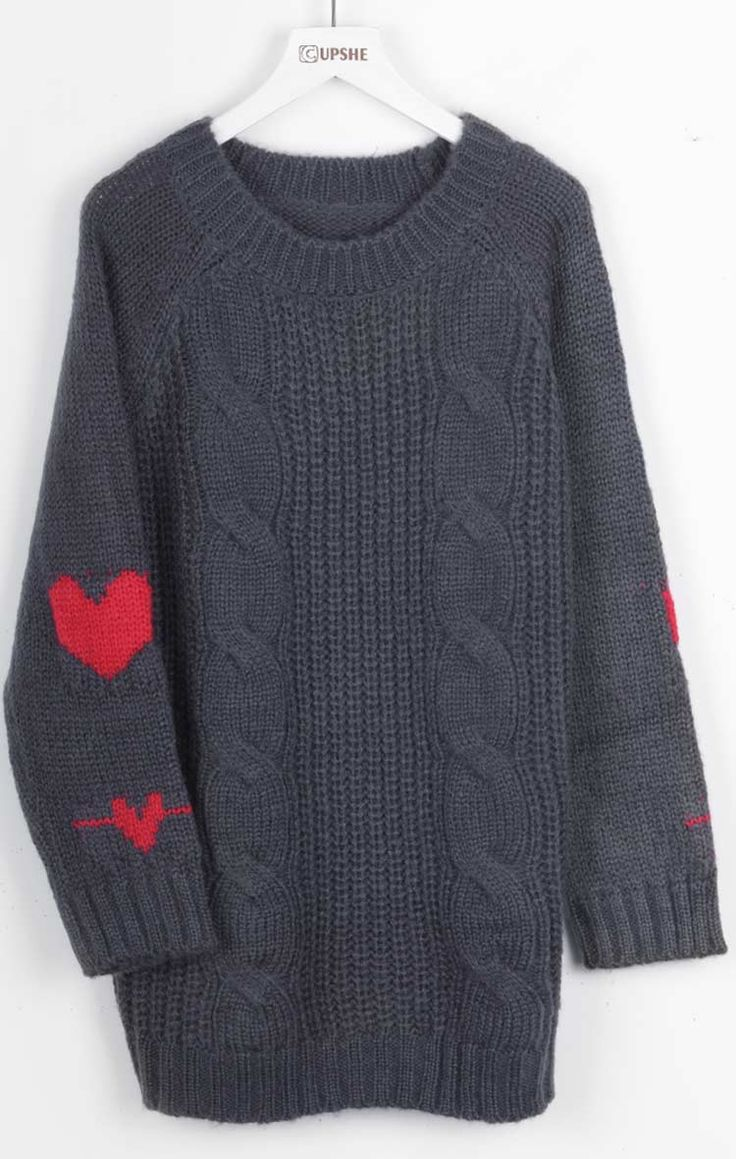 Hot Sale, $31.99! Easy Return + Refund! We did all the work to finding the perfect lovely heart pattern sweater, so you don't have to. Warm up now!