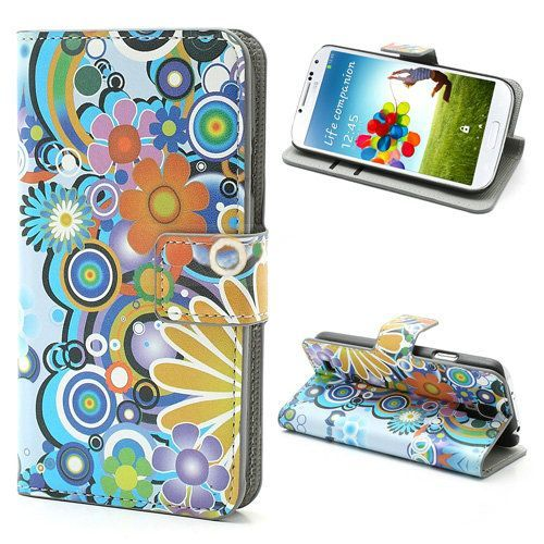 Powerflower booktype hoesje Samsung Galaxy S4