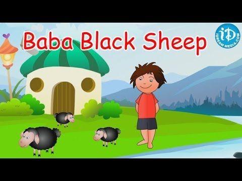 Baba Black Sheep Kids Rhyme, Baa Baa Black Sheep, Baa Baa Black Sheep Kids Rhymes, Baba Black Sheep, Nursery Rhymes, cartoons, rhymes, poems