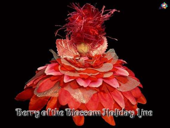 Berry of the Blossom Holiday Line Fairy Faerie OOAK Doll