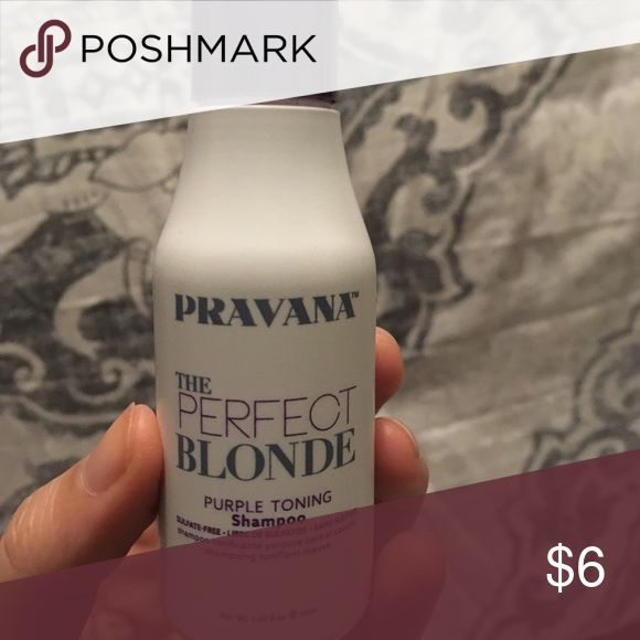Pravana Shampoo Pravana the Perfect Blonde Purple Toning Shampoo. Never used.  Bundle $6 products: 3=free makeup bag. Makeup