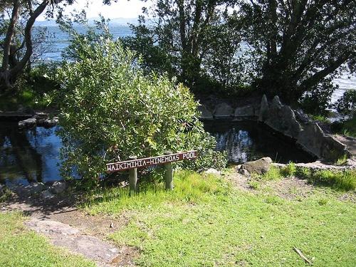 Hinemoa's Pool, from the Maori legend by WorldIslandInfo.com, via Flickr