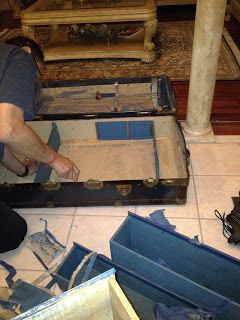 DIY - Steamer Trunk Bar | In The Mix