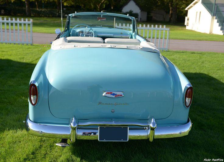 https://flic.kr/p/toA2he | 1954 Chevrolet Bel Air convertible coupe | 48e rallye Paris Deauville