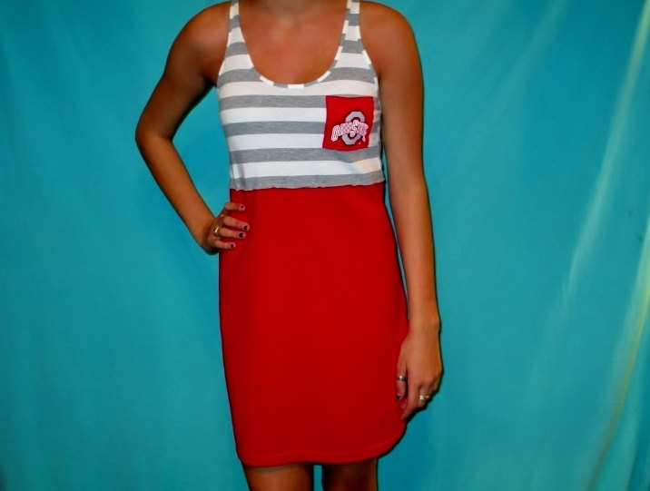 Ordering this in about a month. So cute!  Ohio State Game Day Dress  Buckeyes Apparel by LoveMyGameDress, $45.00