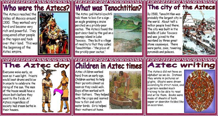 aztec essay questions