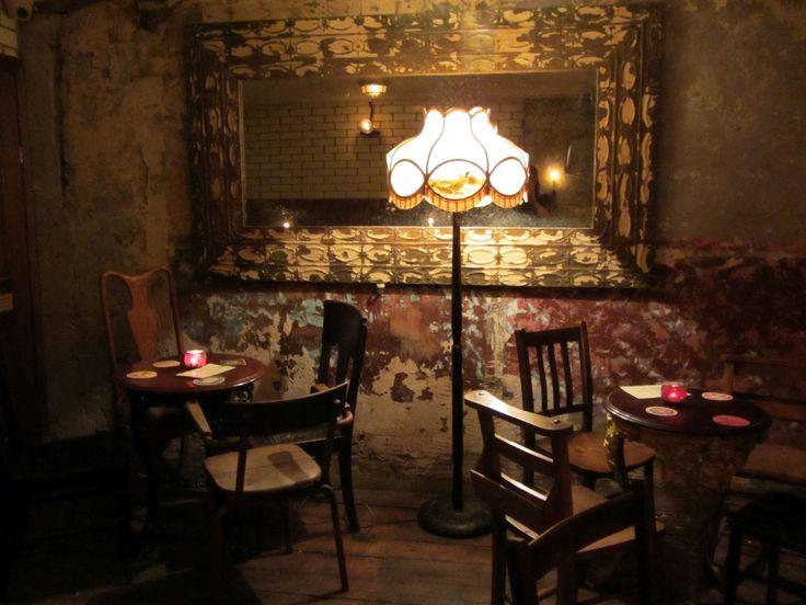 Speakeasy Bars   Miss Immy's London: Ruby's Bar & Castle Gibson