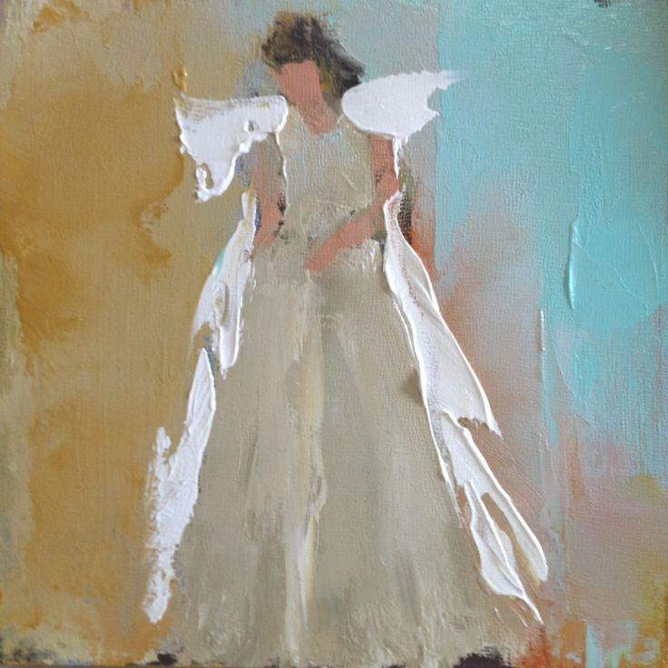 1079 best angels & wings images on Pinterest   Angel paintings ...