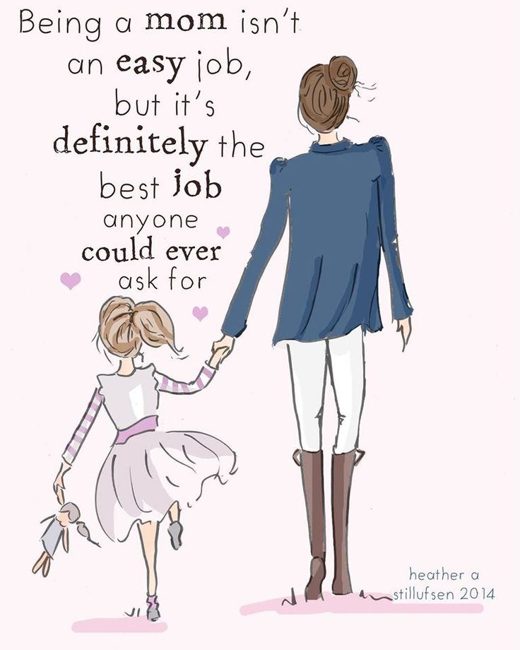 Being a mom isn't an easy job, but it's definitely the best job anyone could…
