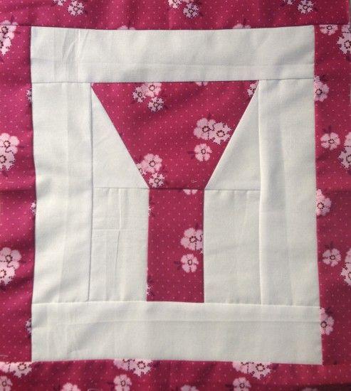 1000+ images about Quilt Block Letters on Pinterest Letter g, Alphabet quilt and Blossoms