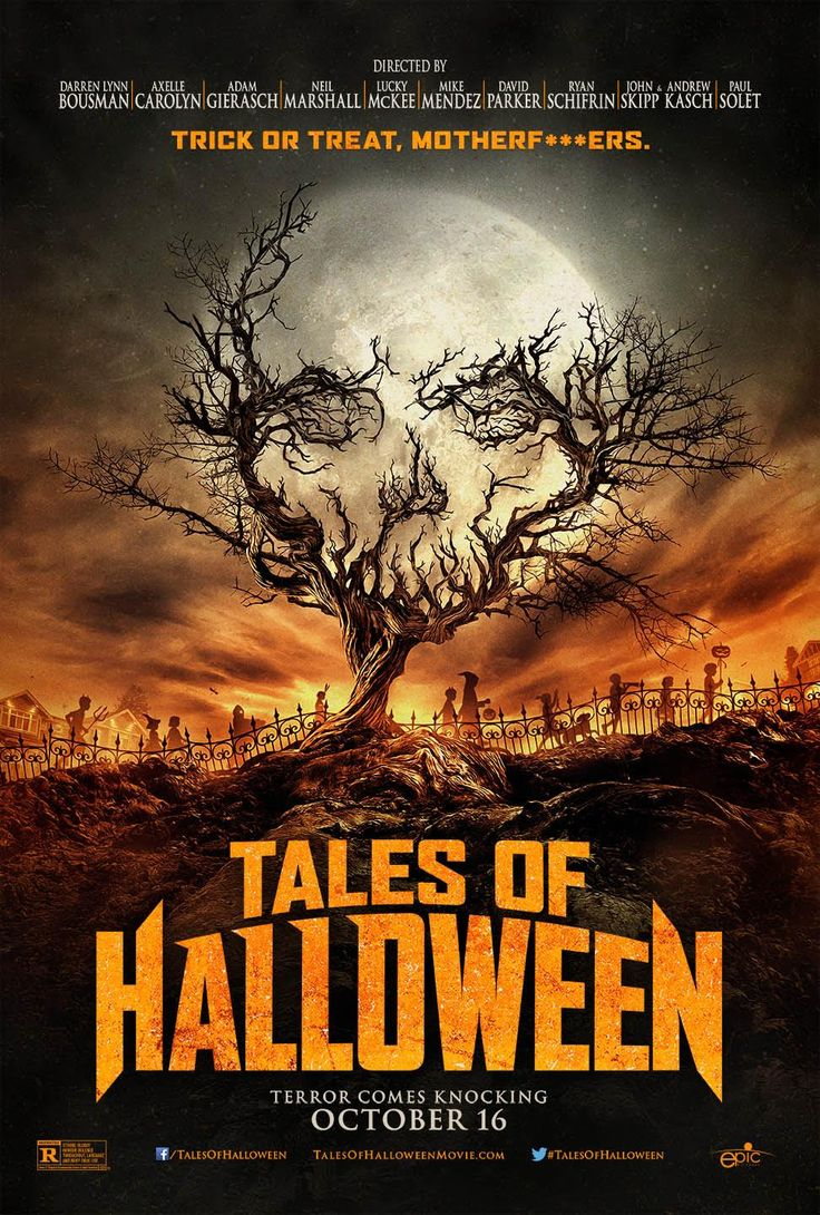 Tales of Halloween (2015): This is a very fun horror anthology which weaves together ten tales of terror on All Hallows Eve.