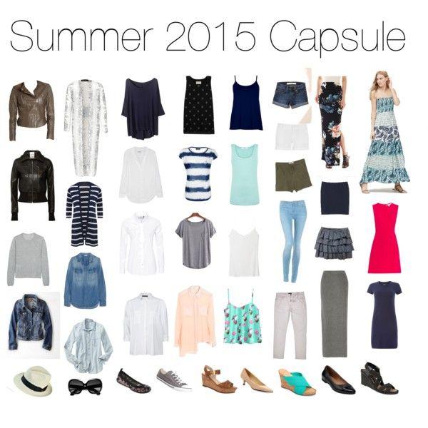 Summer 2015 Capsule Wardrobe Get Into My Closet