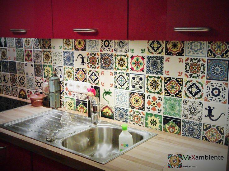 Küchenschrank Bunt Design