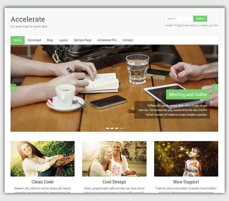 Accelerate-theme-gratuit-WordPress-responsive