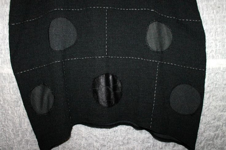 Lagenlook Kleid Überwurf Ballon Zedd Plus 2tlg. Schwarz Grau 3 / 50-52   eBay