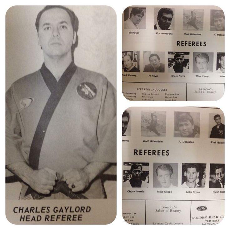 Old 1960's karate tournament brochure.