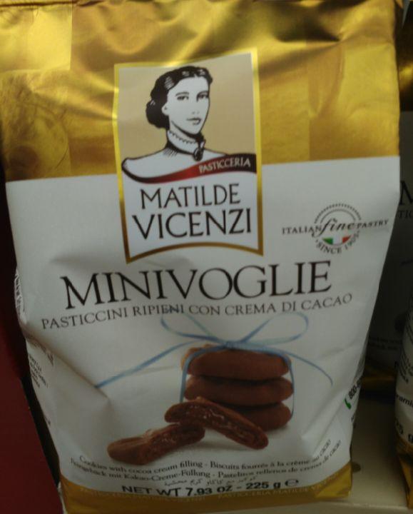 Matilde Vicenzi Mini Voglie Chocolate Cookies