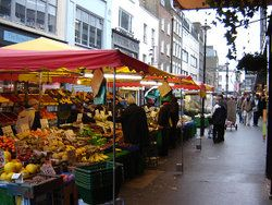 And Berwick street market today - love it